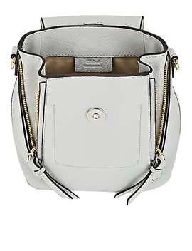 Faye Mini Leather & Suede Backpack by Chloé