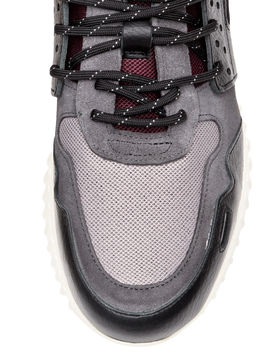 Suede And Leather Sneakers by H&M