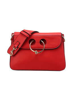 2017 Women Handbag Pierce Bag Fashion Trendy Ladies Shoulder Bags Split Leather Handbag With Ring by Bethlovehuabao Store