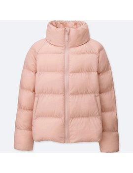 Girls Light Warm Padded Jacket by Uniqlo