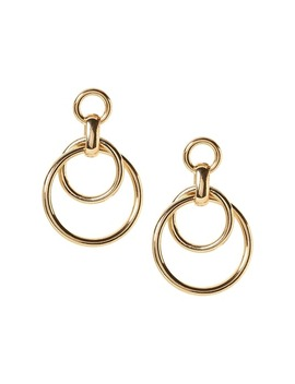 Chain Frontal Hoop Earring by Banana Repbulic