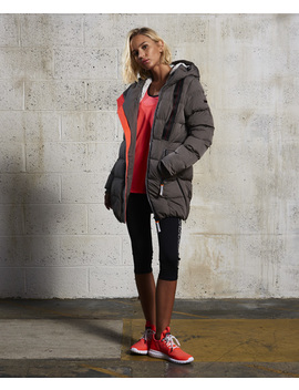 Sd X Superfibre Tall Puffer Jacket by Superdry