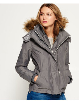 Hooded Fur Sherpa Sd Wind Attacker Jacket by Superdry