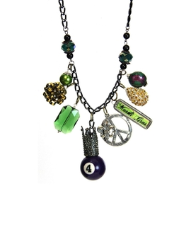Mardi Gras Necklace Peace by Jubilee Gift Shop, Alabama