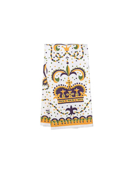 Mardi Gras Crown Towel by Jubilee Gift Shop, Alabama