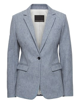 Long And Lean Fit Bi Stretch Blazer by Banana Repbulic