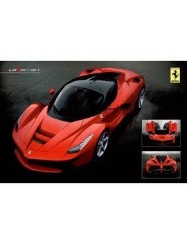 Ferrari La Ferrari Sports Car Italian Racing Fast Luxury Specs Poster   36x24 Inch by Poster Foundry
