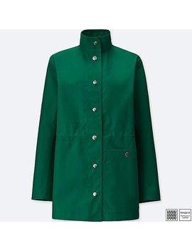 Women U Blocktech Short Coat by Uniqlo