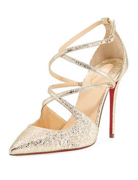 Crossfliketa Strappy Red Sole Pump by Christian Louboutin