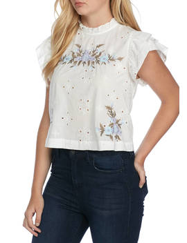 Picnic In The Park Woven Top by Free People