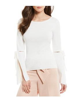 Bell Sleeve Kendra Knit Top by Antonio Melani