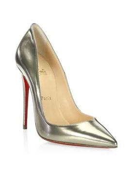 Kate Antispecchio Leather Point Toe Stiletto by Christian Louboutin