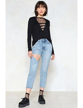 Busted Distressed Jeans by Nasty Gal
