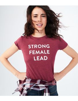 Free State Strong Female Lead Graphic Tee by Aeropostale