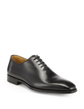 Collection By Magnanni Leather Balmoral Shoes by Saks Fifth Avenue