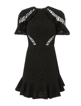 helm-circle-flutter-mini-dress by zimmermann