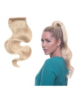 "Bellami It's A Wrap Ponytail 20"" by Qvc"