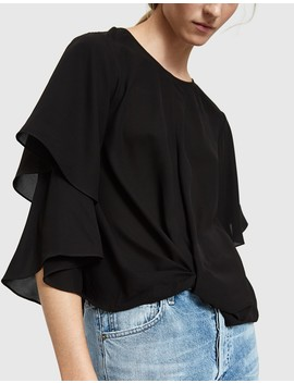 Juniper Blouse In Black by Need Supply Co.