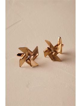 Pinwheel Cufflinks by Bhldn
