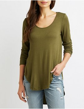 High Low Tunic Top by Charlotte Russe