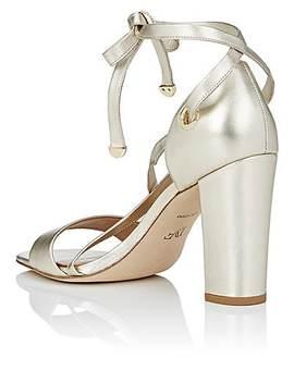 Calabar Leather Ankle Tie Sandals by Diane Von Furstenberg