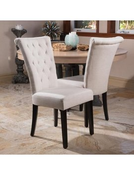 Christopher Knight Home Venetian Tufted Dining Chairs (Set Of 2) By by Christopher Knight Home