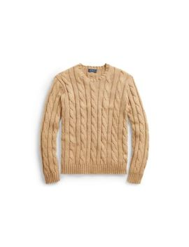 Cable Cotton Cashmere Sweater by Ralph Lauren