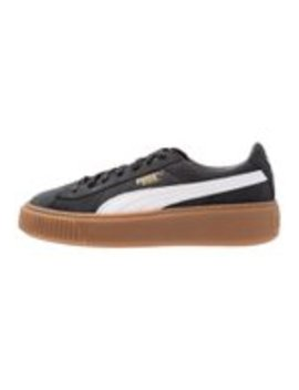 Basket Platform Perf Gum   Sneaker Low by Puma