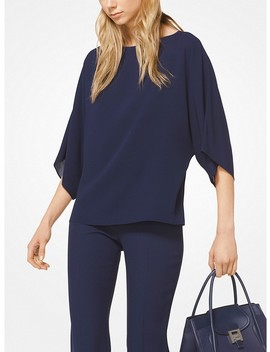 Silk Georgette Tunic by Michael Kors Collection