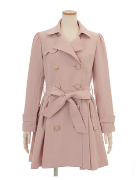 Liz Lisa   Bijou Button Trench Coat by Liz Lisa