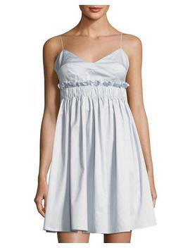 Peplum Camisole Cotton Dress by Kendall + Kylie