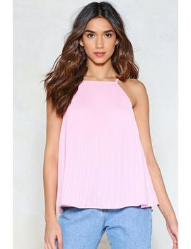 Pleat You There Cami Top by Nasty Gal