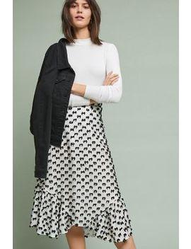 Mod Textured Skirt by Eva Franco