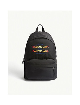 Explorer Nylon Backpack by Balenciaga