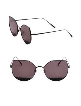 Tinted 58 Mm Cat Eye Sunglasses by Gentle Monster