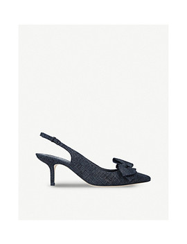 Rosalind Leather Slingback Courts by Tory Burch