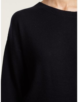 Ianka Tie Side Wool And Cashmere Blend Sweater by Vanessa Bruno