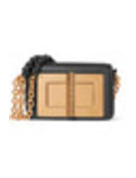 Natalia Embellished Leather Shoulder Bag by Tom Ford
