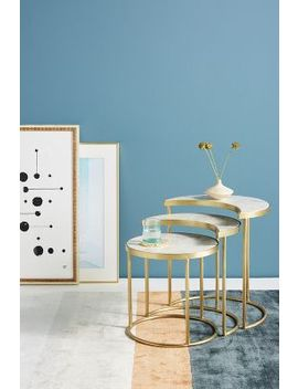 Celestial Nesting Side Tables by Anthropologie