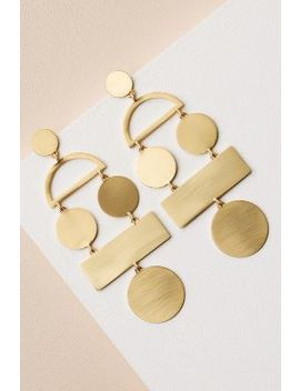 Picasso Earrings by Anthropologie