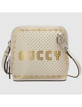 Guccy Sega® Print Mini Shoulder Bag by Gucci
