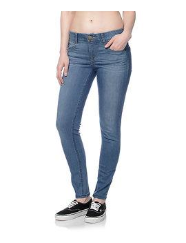 Jolt Techno Tuck Medium Blue Skinny Jeans by Jolt