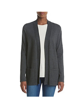 Jones New York® Open Front Cardigan by Jones New York More