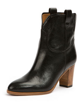 June Antiqued Short Ankle Boot by Frye