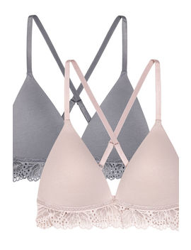 2er Pack Bügellose Push Up B Hs by H&M