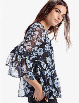 Mixed Floral Peasant by Lucky Brand