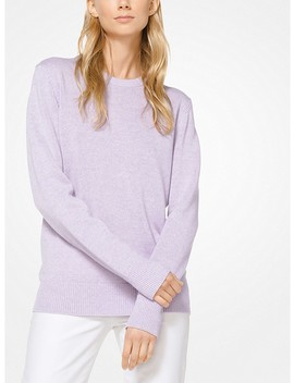 Cashmere And Linen Pullover by Michael Kors Collection