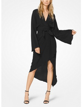 Crepe De Chine Kimono Dress by Michael Kors Collection