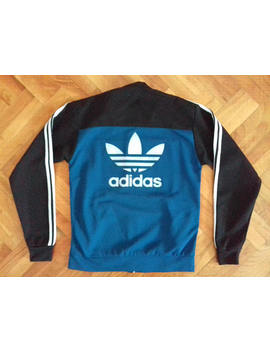 1990s Vintage Adidas Jacket Windbreaker Zipper Hip Hop Rap Retro Hippie Nike Reebok Champion Kappa Hilfiger Puma Calvin Klein by Etsy