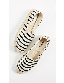 Classic Stripe Smoking Slippers by Soludos